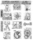 TIM HOLTZ - STAMPERS ANONYMOUS CMS150 - MINI BLUEPRINTS #3