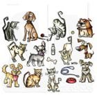 TIM HOLTZ - STAMPERS ANONYMOUS CMS272 - MINI CATS & DOGS