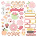 CHICKANIDDY CRAFTS - TWIRLY GIRLY - STICKERS SHEET 12x12