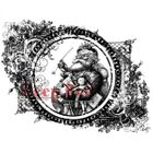 DEEP RED STAMPS - VINTAGE SANTA