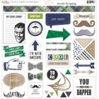 GLITZ DESIGN - DAPPER DAN - STICKERS DD1226 - TITLES & ACCENTS