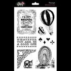GLITZ DESIGN STAMPS - S2778 - AFTERNOON MUSE - 1 igje