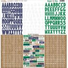 GLITZ DESIGN - DAPPER DAN - STICKERS AW1257 - ALPHABETS & WORDS