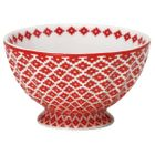 French bowl Judy red medium