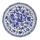 Blue Regal Peacock plate 22cm