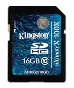 Kingston Ultimate X - flashminnekort -