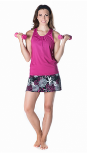 Bilde av Gym Girl Ultra Skirt Enchanted Print