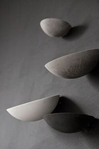 Bilde av LAURIE POAST WALL BOWL GREY