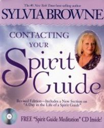 Contacting Your Spirit Guide w/free cd - Sylvia Browne