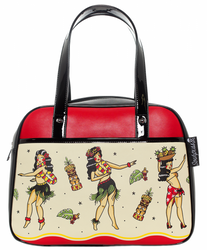 Hula Gals Bowler Purse