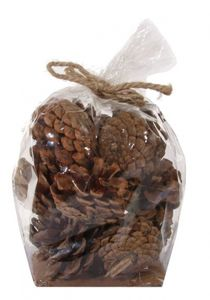 Bilde av Pine cones M bag natural 140g