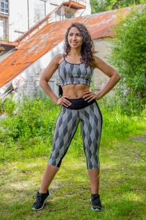 Limited Edition Oba Tights & Sports-bra