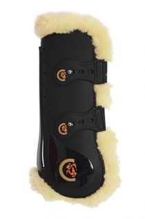 Kentucky Sheepskin Tendon Boots front