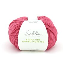 Extra Fine Merino Worsted 477 Chloé Pink