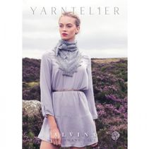 Yarntelier Alvina sjal Cashmere Lace