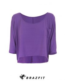 Club Loose Purple Sleeve Sweater