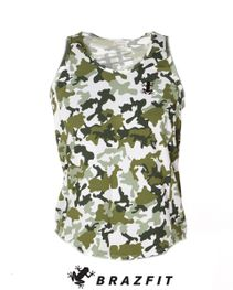 Train Insane Camo Tank Top