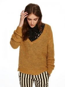 Bilde av Maison Scotch - Deep V-Neck
