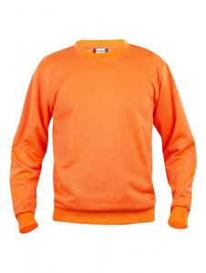 Bilde av Crew neck basic neon orange