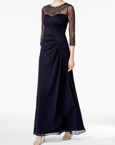 Bilde av Illusion Embellished Gown
