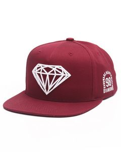 Bilde av Caps - Diamond Brilliant Snapback Cap / Burgundy
