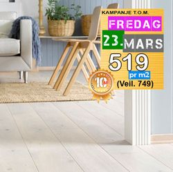 Parkett SAGA Eik Plank Exclusive Pearl
