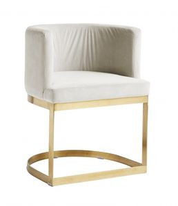 Bilde av LOUNGE dinner chair, cream