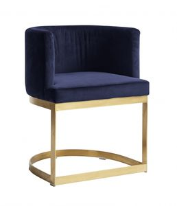 Bilde av LOUNGE dinner chair, blue