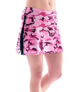 Bilde av Gym Girl Ultra Skirt Pink Camo Print