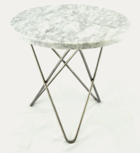 Bilde av Mini O Table Tall Marble 50