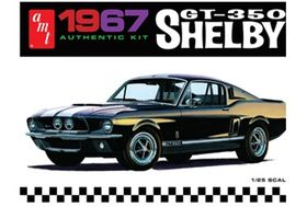 AMT 834M 1967 Shelby GT350 Black 1:25