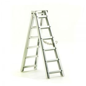 1:10 Scale Aluminum Ladder Short 101mm