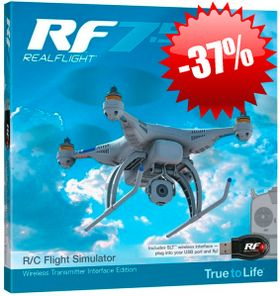 RealFlight 7.5 Wireless SLT™ Transmitter Interface Edition