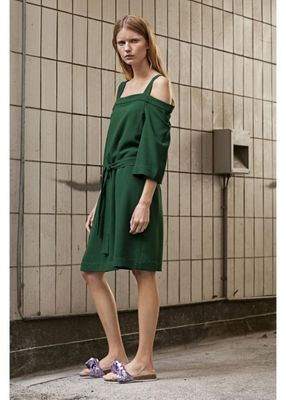 Designers Remix Wake Belt Dress Green