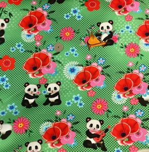 Bilde av Happy Pandas, Fiona Hewitt - French Terry