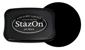 StazOn pad Jet black