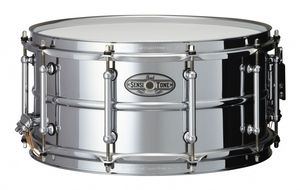 Bilde av Pearl SensiTone 14x6.5 Beaded Steel skarptromme