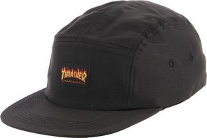 Bilde av Caps - Thrasher Flames Logo 5 Panel / Black