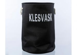 Bilde av KLESVASK-bag/kurv, sort