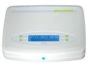 Bilde av Nexa Gateway, med Iphone &