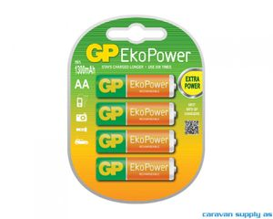 Bilde av Batteri GP EkoPower R6/AA