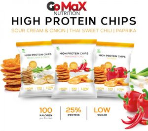 Bilde av High Protein Chips 14x50g - Snacks