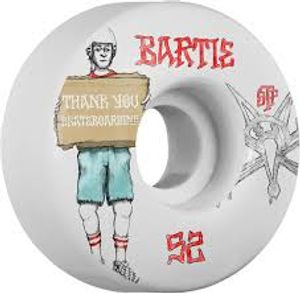 Bilde av Skateboard Hjul - Bones 52MM Bartie Thank You