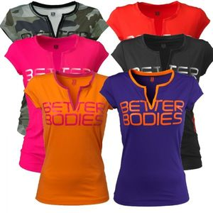 Bilde av Better Bodies - Fitness V-Tee - Athletic Purple