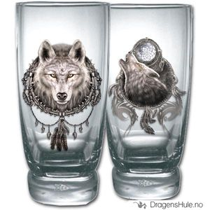 Bilde av Glass: Wolf Dreams vannglass (par)