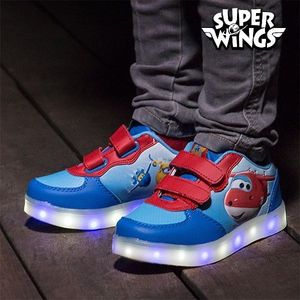 Bilde av Super Wings LED Joggesko