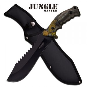 Bilde av Jungle Master Machete med Slire - Forest Camo - 38cm