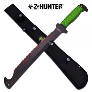 Bilde av Zombie Hunter Saw Back Machete