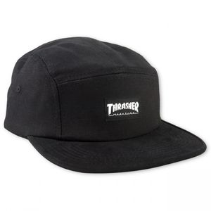 Bilde av Caps - Thrasher 5 Panel Hat / Black