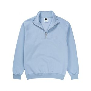 Bilde av Crew Neck - Polar Zip Neck Sweatshirt / Powder Blue